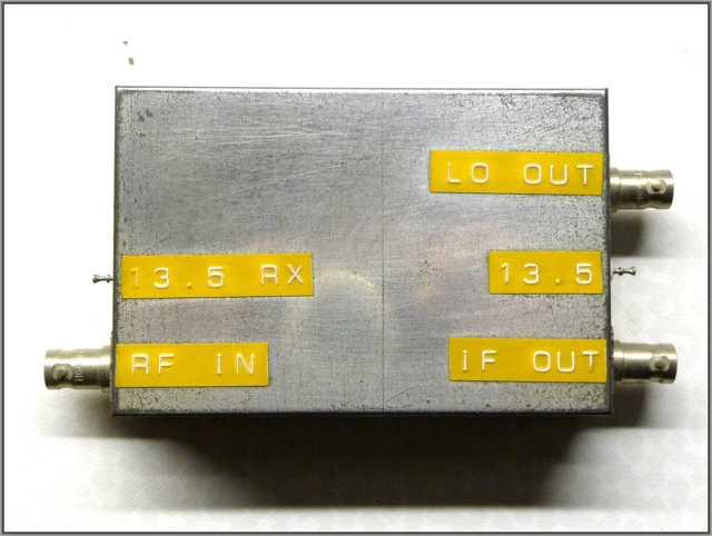 Amateurfunk DL4PP Bauprojekt 1200Mhz Transverter