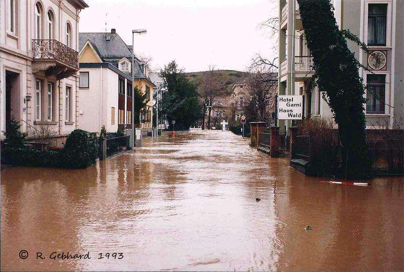 bad kreuznach hochwasser dezember 1993. Black Bedroom Furniture Sets. Home Design Ideas